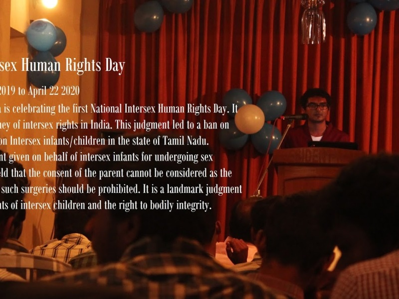 1st national intersex human rights day